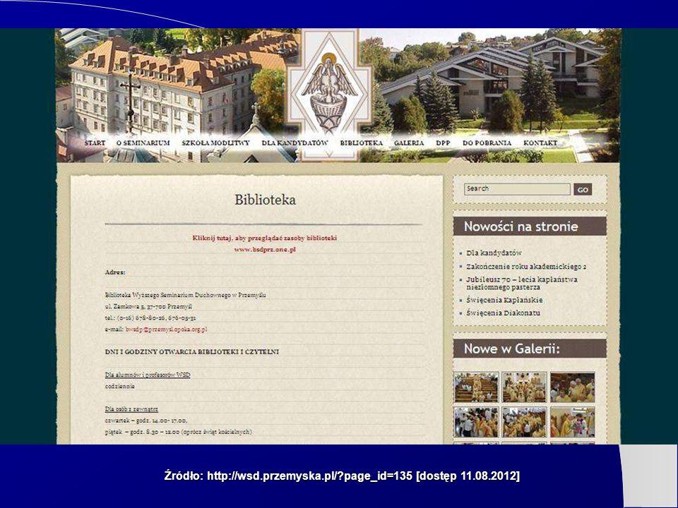 Źródło: http://wsd.przemyska.pl/?page_id=135 [dostęp 11.08.2012]