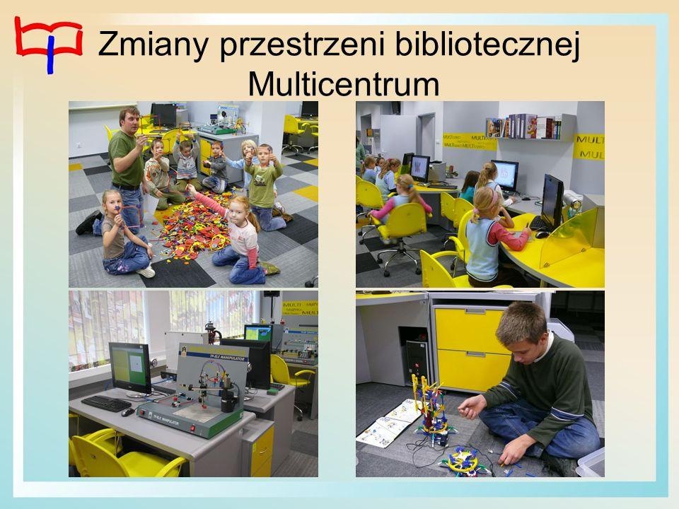 Zmiany przestrzeni bibliotecznej Multicentrum