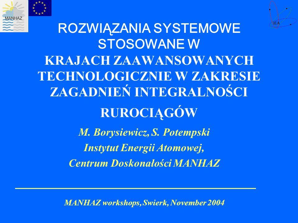 MANHAZ workshops, Swierk, November 2004