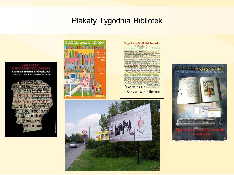 Plakaty Tygodnia Bibliotek