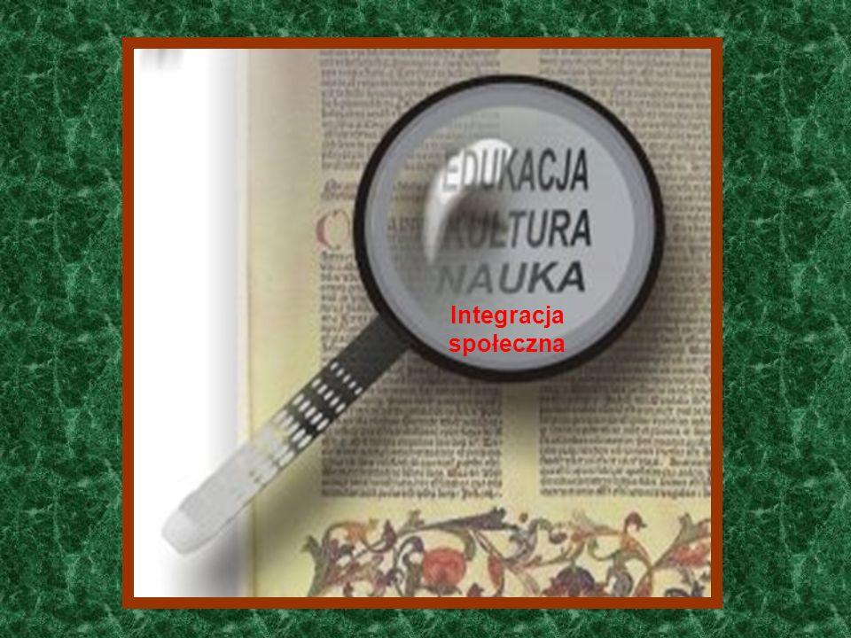 Funkcje zewnętrzne ? Integracja społeczna