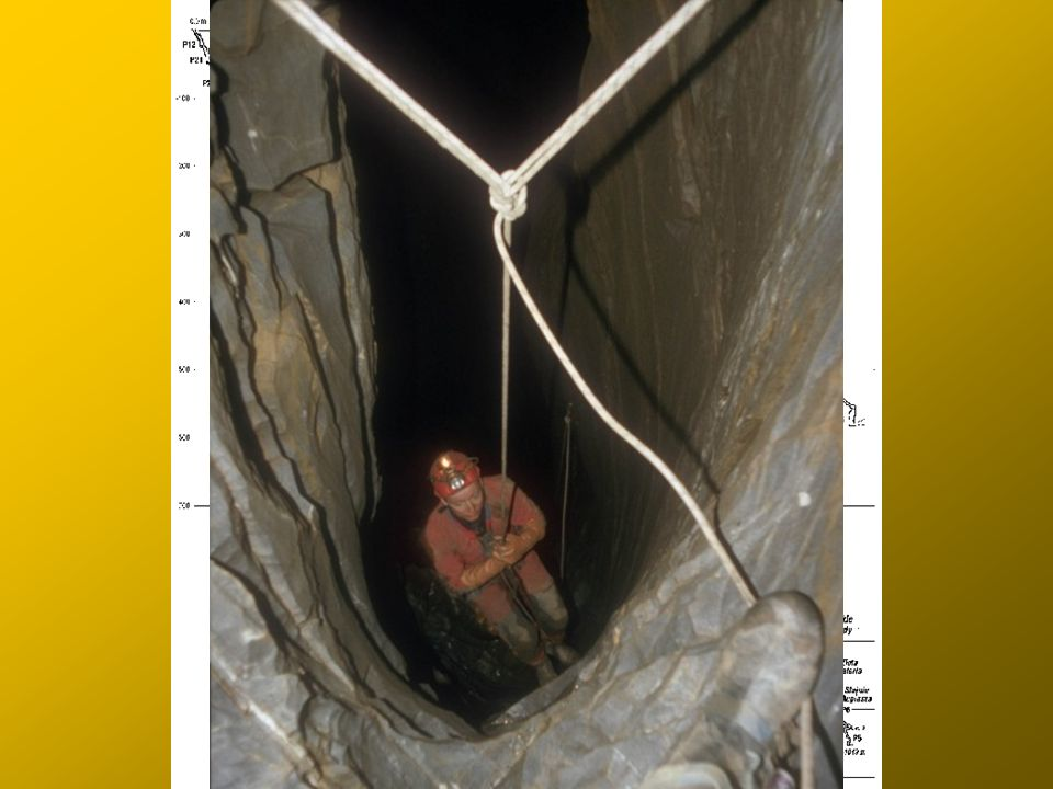 Droga na dno c.d.: Gilotyna Łowickie Kaskady Złota Galeria (-750 - -950 m)