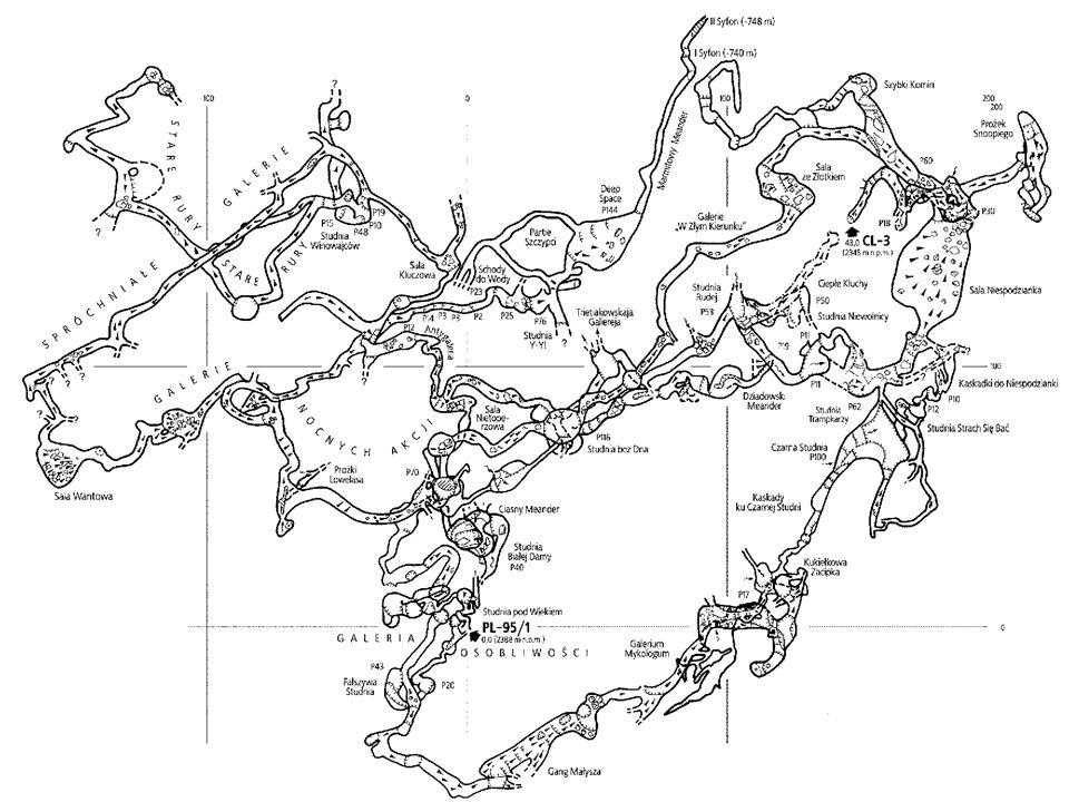 Jaskinia CL-3 Plan
