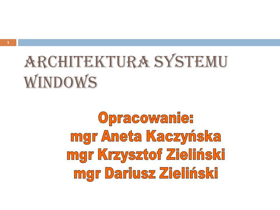 2 windows - historia systemu system operacyjny – pojecie ogólne systemy operacyjne – przyk ł ady systemy operacyjne – przyk ł ady rodzina systemów windows budowa systemu plików FAT i NTFS opis instalacji wybranego systemu