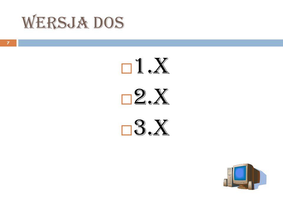 ntfs 18 Budowa wewnętrzna: podstawową jednostką systemu NTFS jest wolumin.