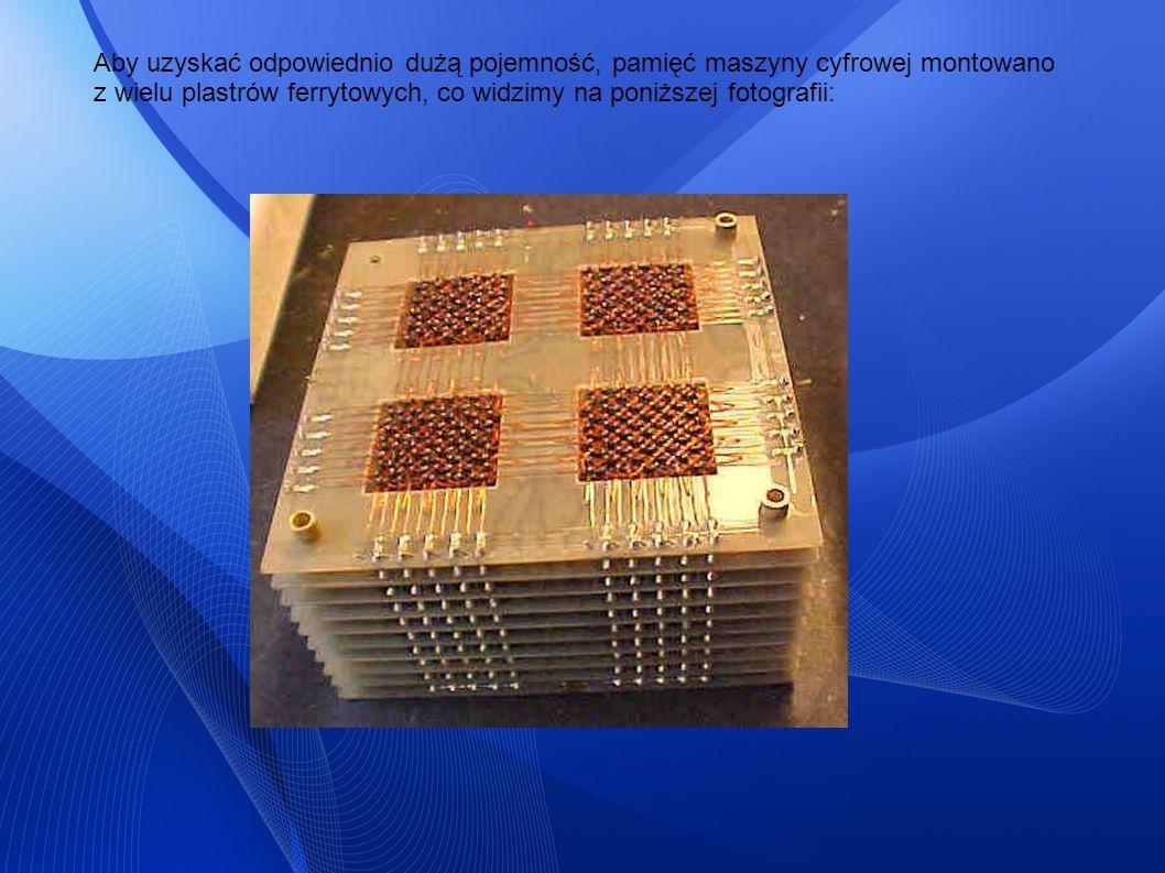 1947 - wynalezienie magnetycznej pamięci bębnowej (ang.