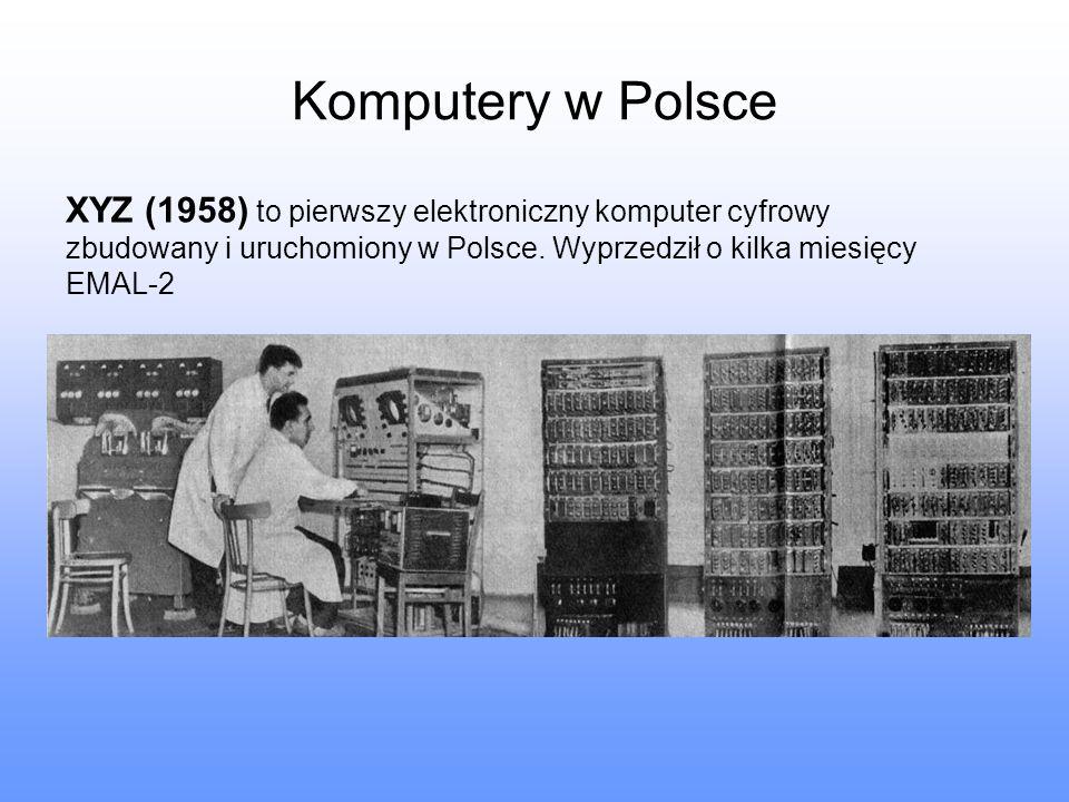 Komputery w Polsce XYZ (1958) to pierwszy elektroniczny komputer cyfrowy zbudowany i uruchomiony w Polsce. Wyprzedził o kilka miesięcy EMAL-2
