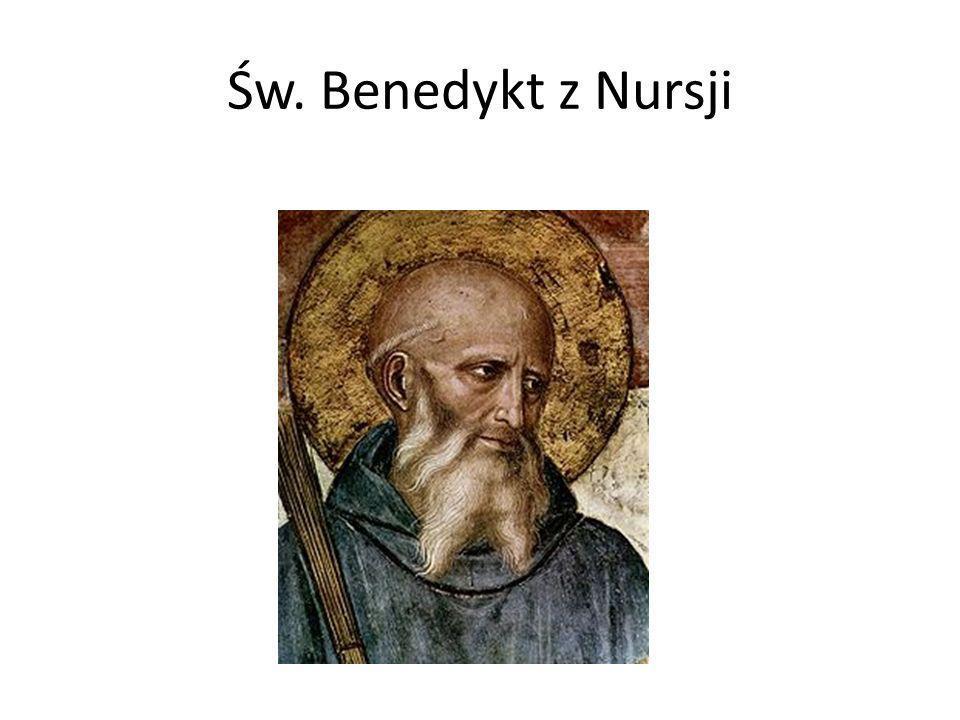 Biografia Urodził się ok.480 r. w Nursji we Włoszech.