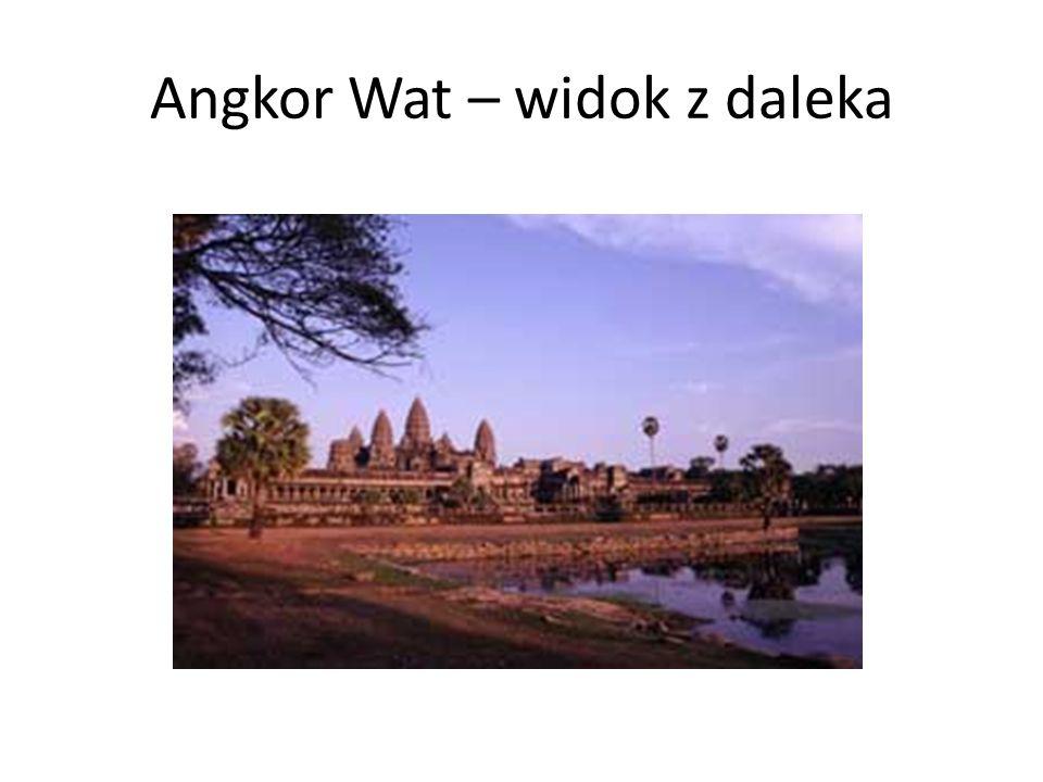Angkor Wat – widok z daleka
