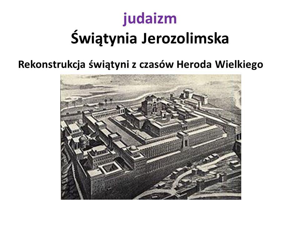 judaizm Świątynia Jerozolimska Rekonstrukcja świątyni z czasów Heroda Wielkiego