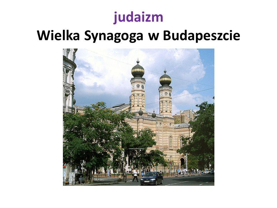 judaizm Wielka Synagoga w Budapeszcie