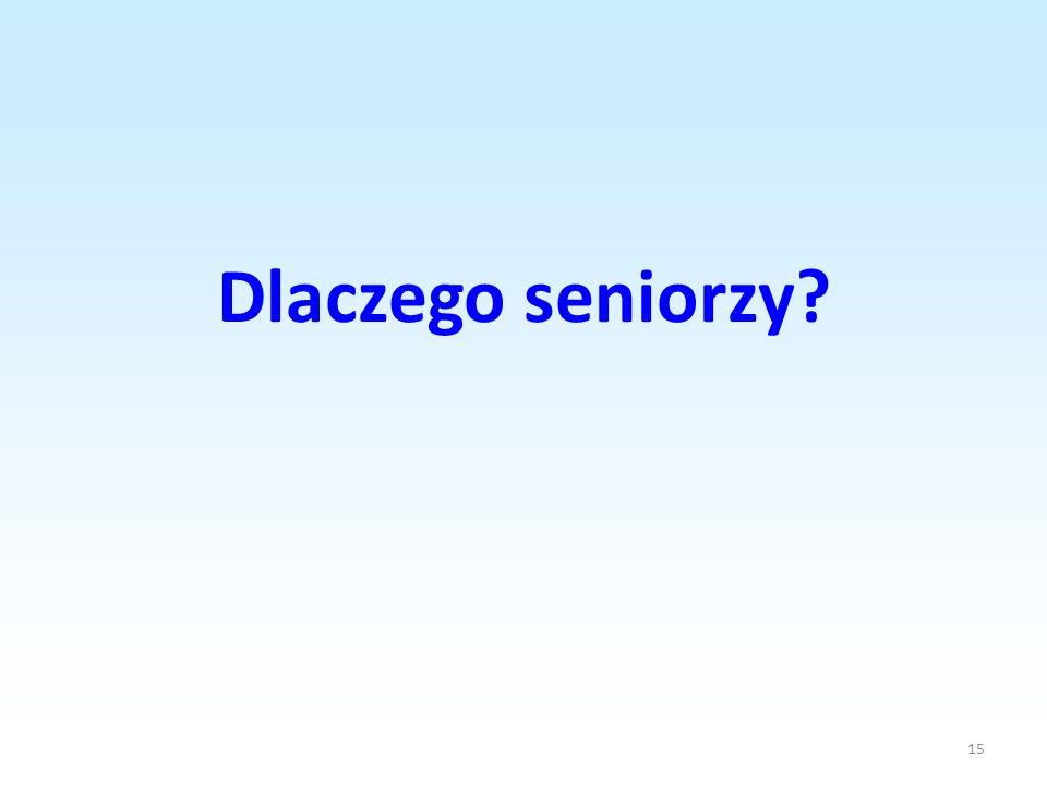 15 Dlaczego seniorzy?