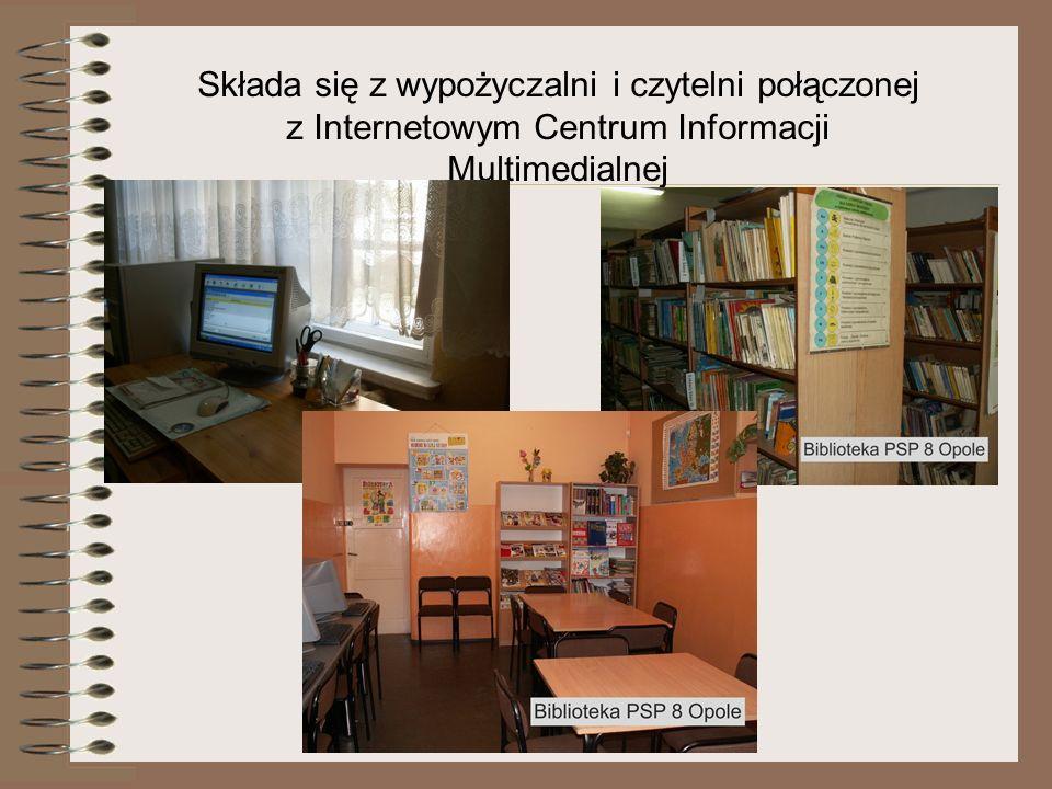 Biblioteka wykorzystuje program do obsługi bibliotek szkolnych- MOL Optivum Program MOL Optivum pomaga : prowadzić księgi inwentarzowe, tworzyć opisy do katalogów, rejestrować czytelników, udostępniać książki, prowadzić statystykę czytelnictwa, kontrolować terminy zwrotu książek Program podnosi jakość usług bibliotecznych- wszystkie zbiory biblioteki są skatalogowane