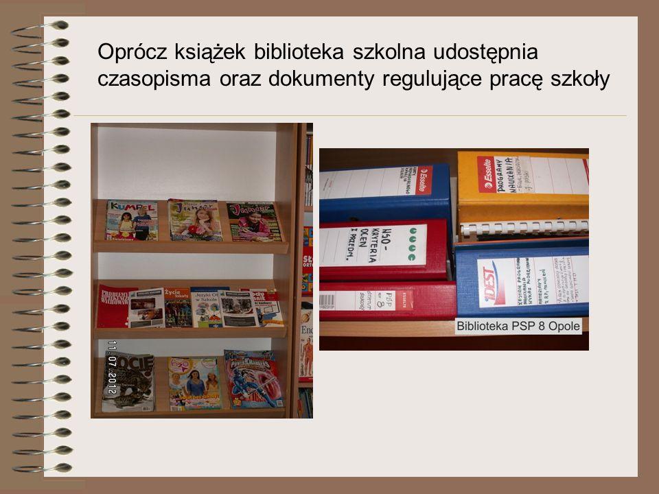 Biblioteka wspiera pracę z uczniami o specjalnych potrzebach edukacyjnych Uczniowie wykorzystują programy multimedialne i edukacyjne strony www na zajęciach wyrównawczych i rewalidacyjnych