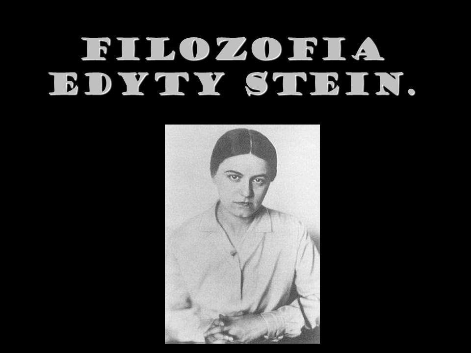 Filozofia Edyty Stein.