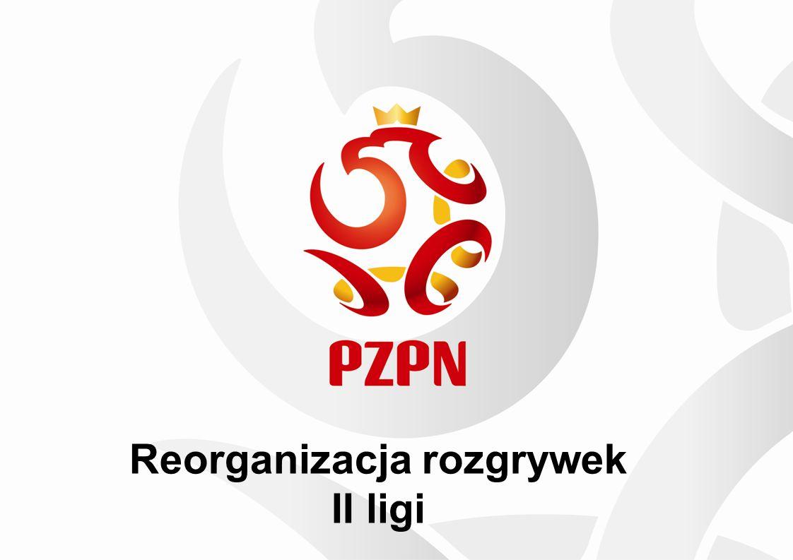 Reorganizacja rozgrywek II ligi