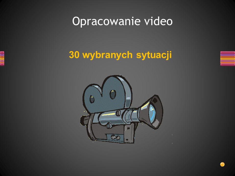 Opracowanie video 30 wybranych sytuacji