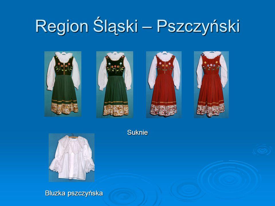 Region Śląski – Pszczyński Suknie Bluzka pszczyńska