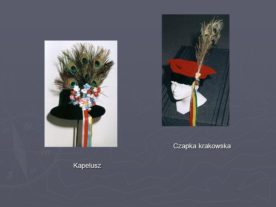 Kapelusz Czapka krakowska