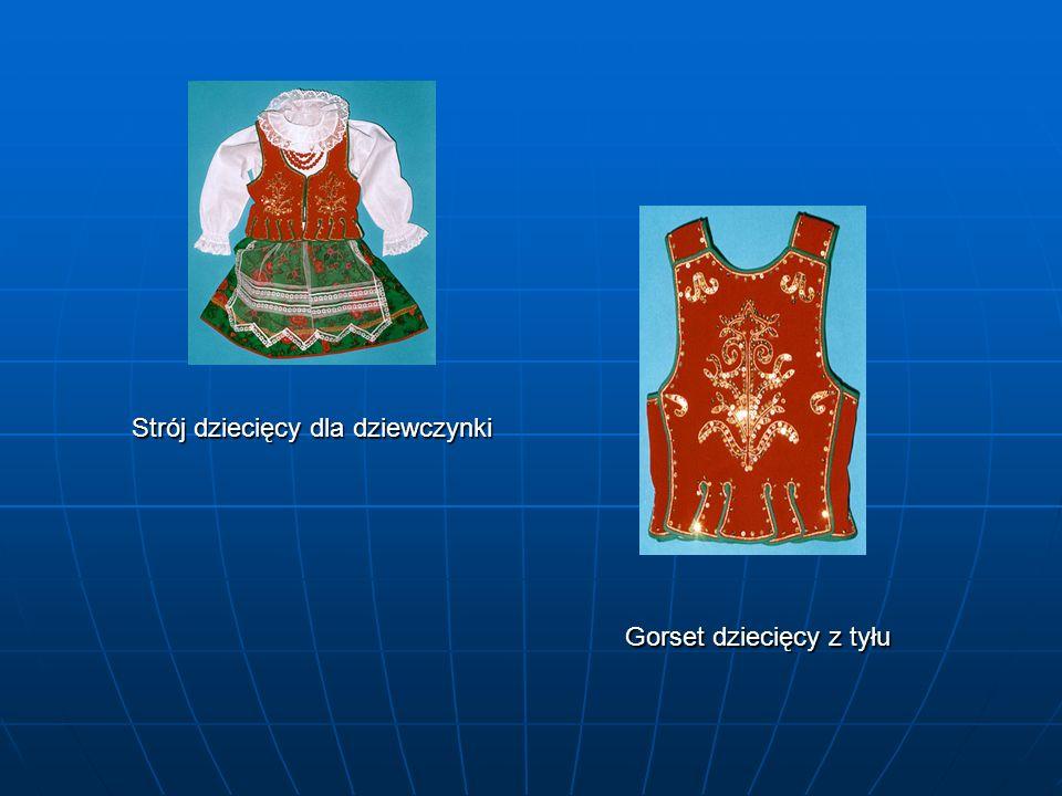 Stroje Bojków Damski Gorset Męski Bluzka damska Spódnica Koszula męska