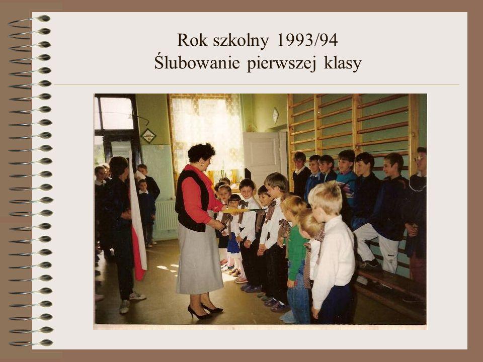 Rok szkolny 1993/94 Dzień Edukacji Narodowej