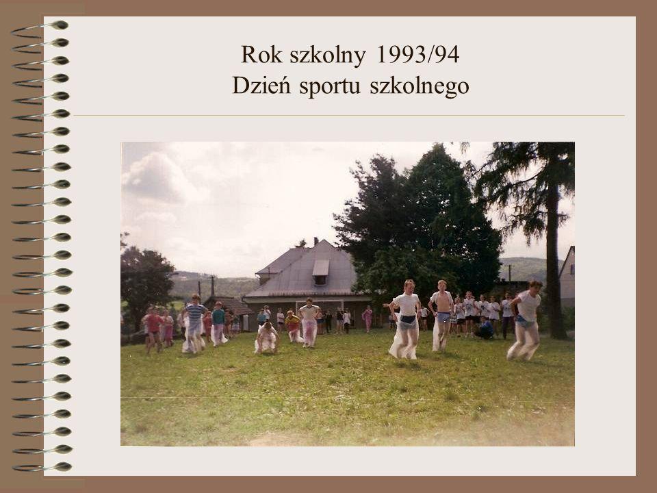 Rok szkolny 1993/94 Dzień sportu szkolnego