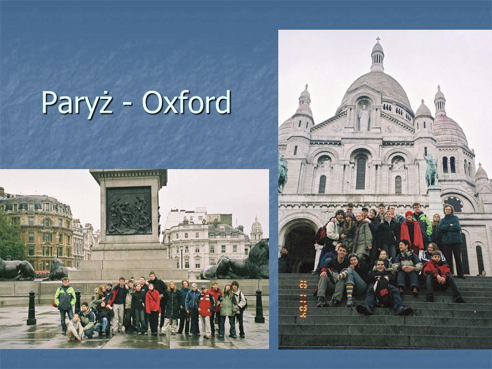 Paryż - Oxford