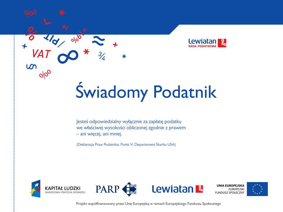Optymalizacja podatkowa Andrzej Nikończyk Wiceprzewodniczący Grupy VAT Rady Podatkowej
