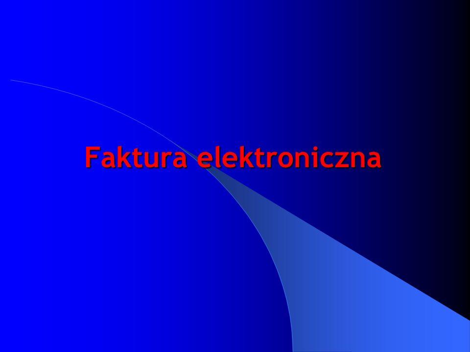 Faktura elektroniczna
