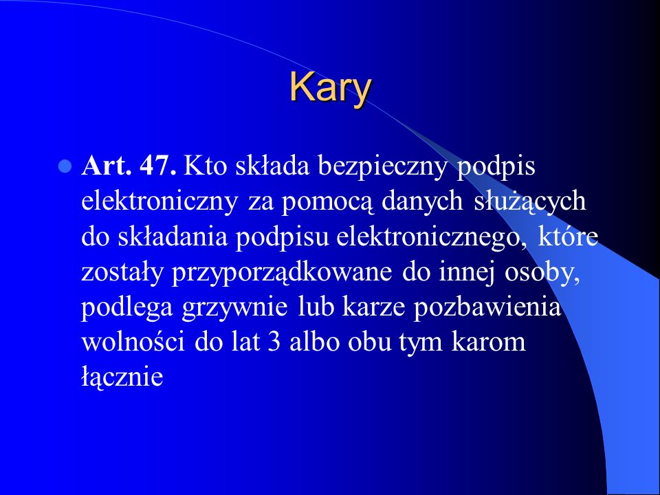 Kary Art.48.
