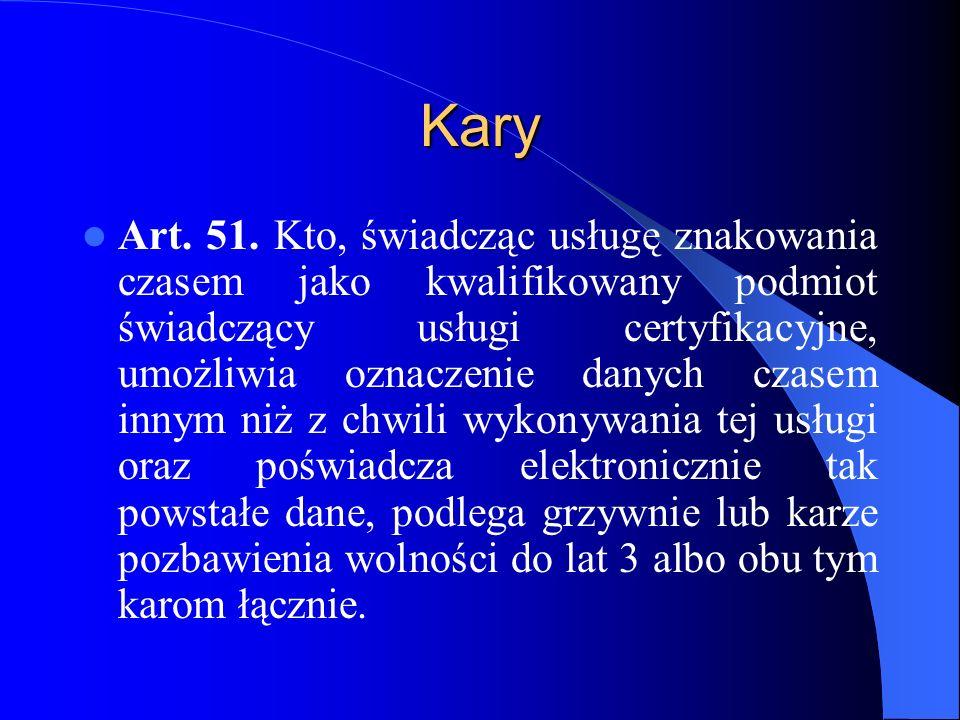 Kary Art.52. 1.