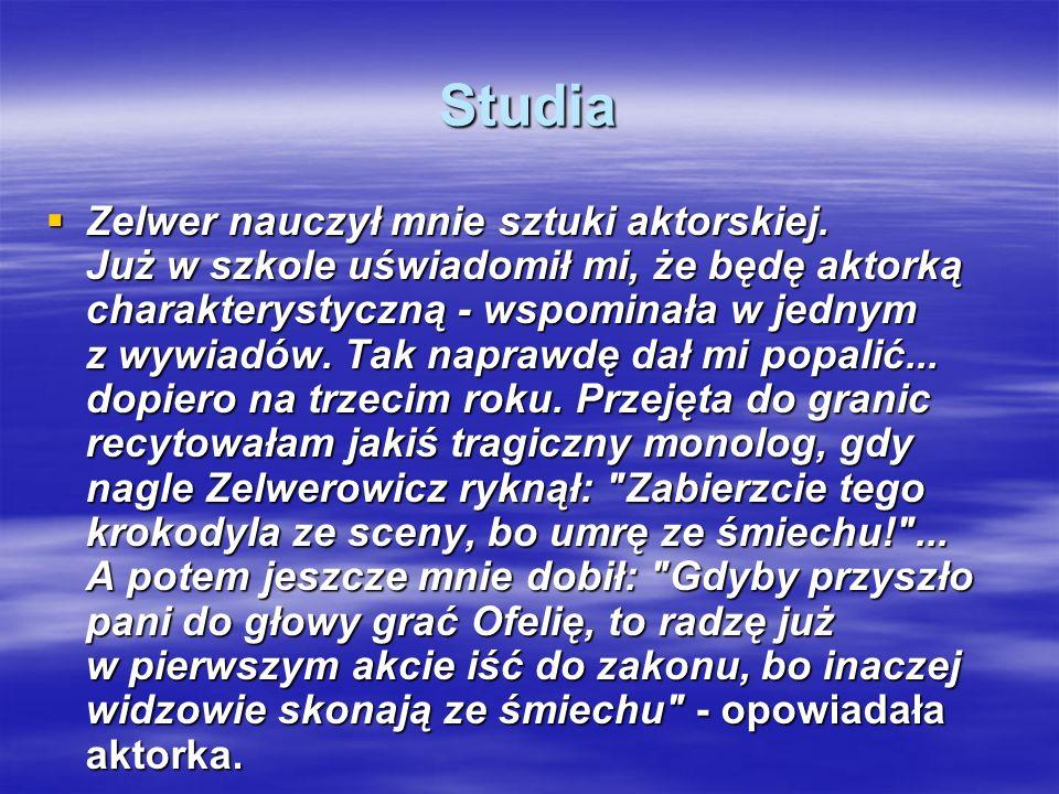 Hanka Bielicka Hanka Bielicka BIOGRAFIA BIOGRAFIA Hanka Bielicka urodziła się w 1915 roku w miejscowości Konowka (obecnie Ukraina). Hanka Bielicka uro