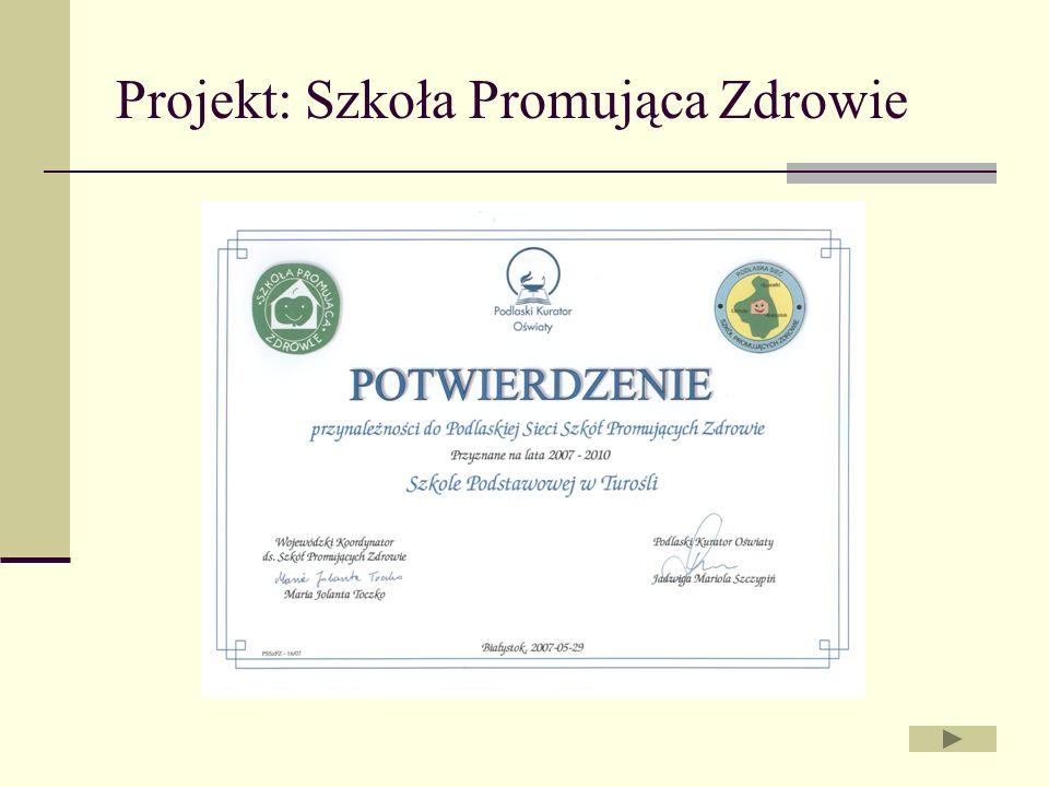Projekt: Szkoła Promująca Zdrowie