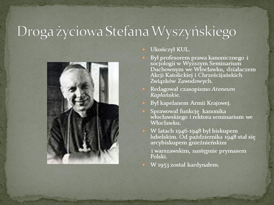 Ukończył KUL. Był profesorem prawa kanonicznego i socjologii w Wyższym Seminarium Duchownym we Włocławku, działaczem Akcji Katolickiej i Chrześcijańsk