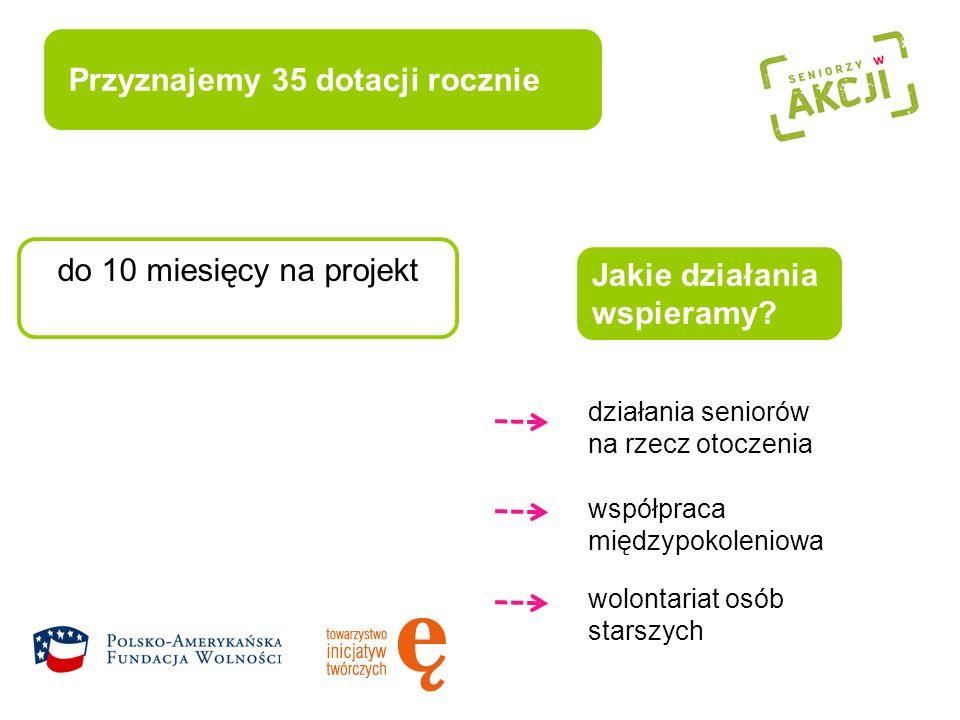 www.seniorzywakcji.pl www.e.org.pl Zobacz filmy o seniorach w akcji.