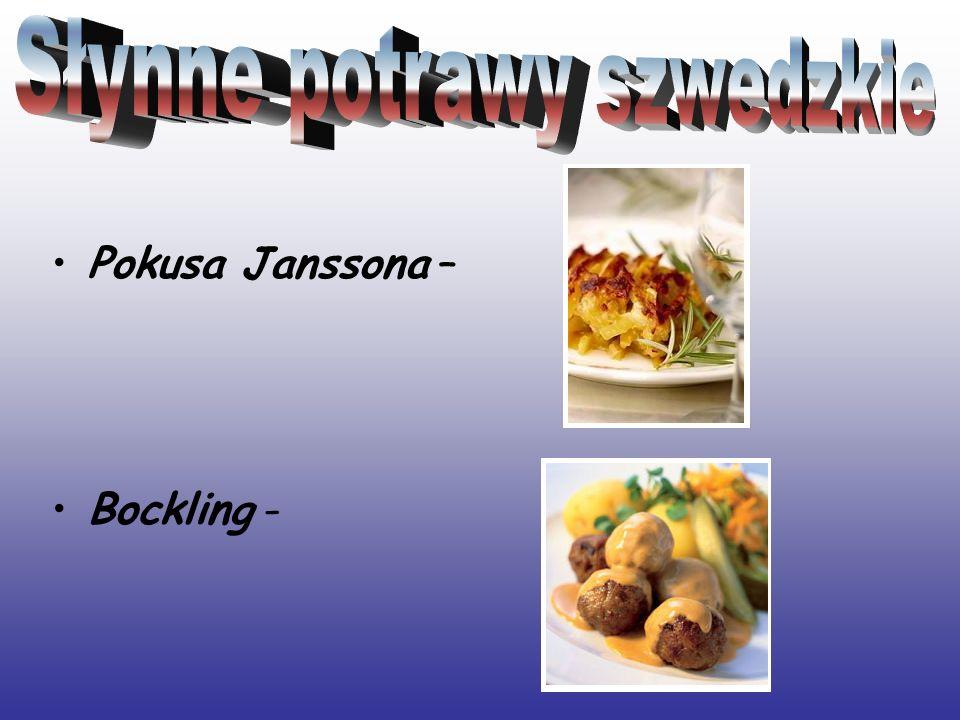 Pokusa Janssona – Bockling -