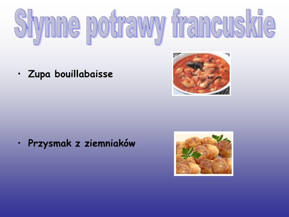 Zupa bouillabaisse Przysmak z ziemniaków