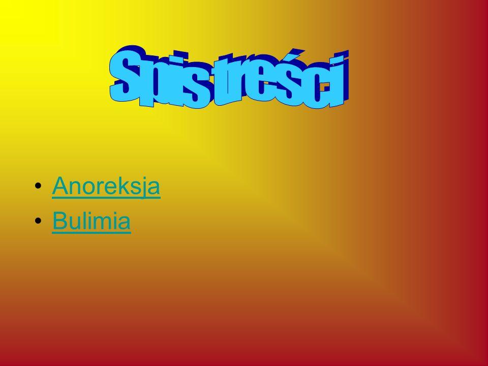 Anoreksja Bulimia