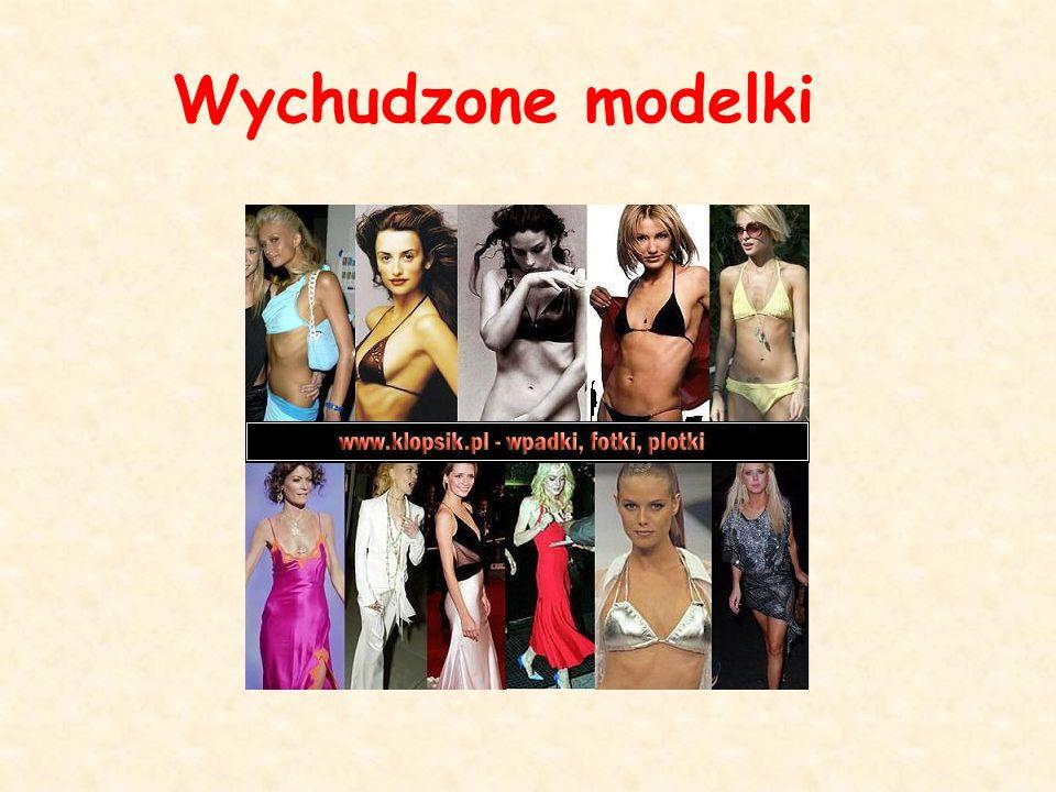 Wychudzone modelki