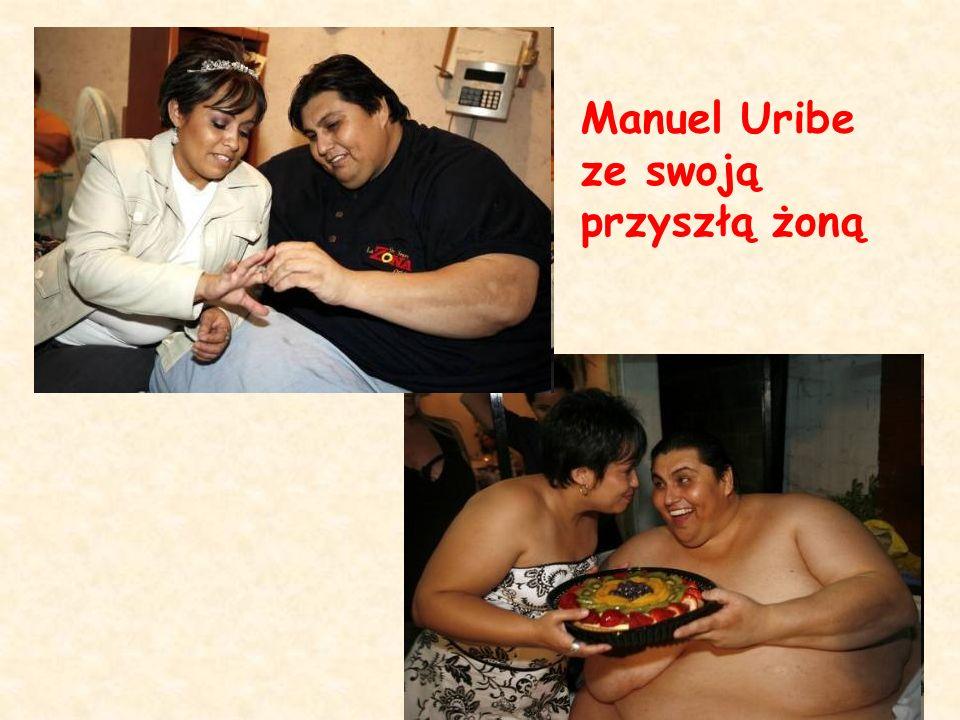 Manuel Uribe ze swoją przyszłą żoną