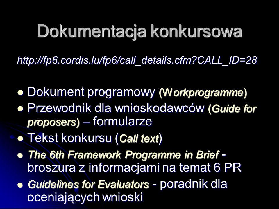 Kilka porad Jasność i zwięzłość wniosku (daj do poczytania osobie trzeciej) Jasność i zwięzłość wniosku (daj do poczytania osobie trzeciej) Diagramy, rysunki, formatowanie (kolory nie są potrzebne) Diagramy, rysunki, formatowanie (kolory nie są potrzebne) Strukturyzacja tekst Strukturyzacja tekst Sprawdzenie z kryteriami Sprawdzenie z kryteriami Konsultacje (LPK-RPK-KPK) Konsultacje (LPK-RPK-KPK)