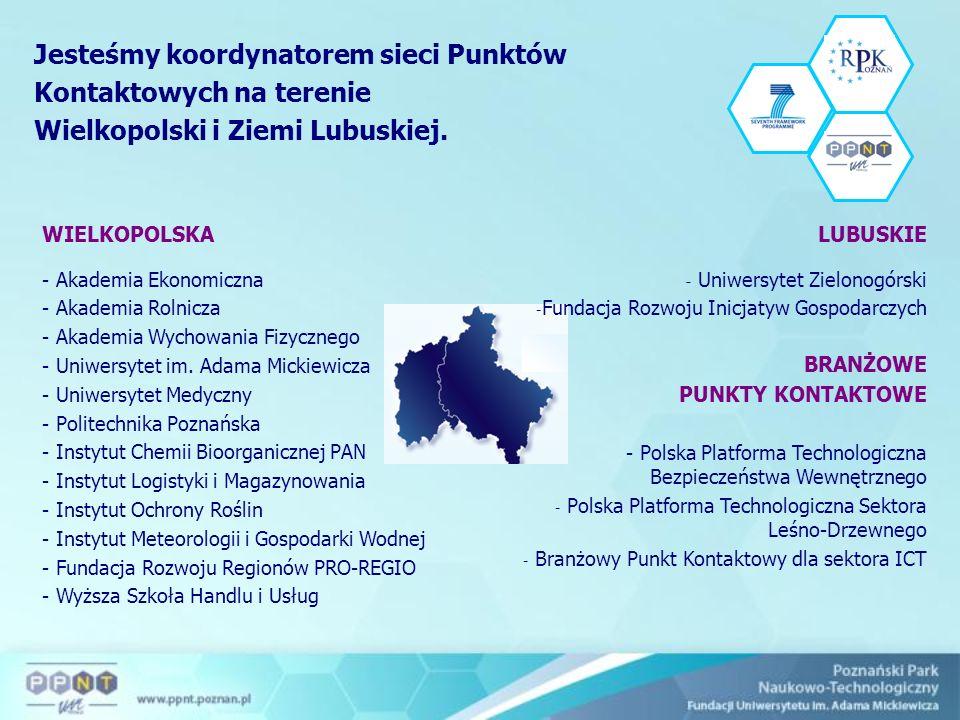 Od lat zajmujemy się promowaniem potencjału naukowego regionu, jesteśmy inicjatorem powstania pierwszego polskiego portalu regionalnego, poświęconego Wielkopolsce, który został uruchomiony na stronach CORDISu.