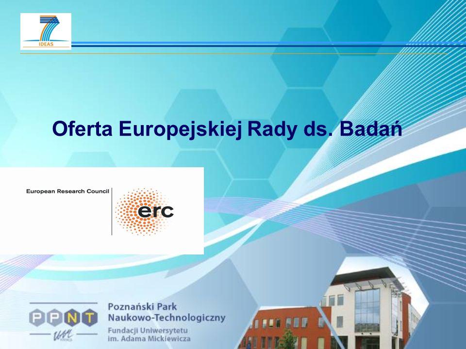 Oferta Europejskiej Rady ds. Badań