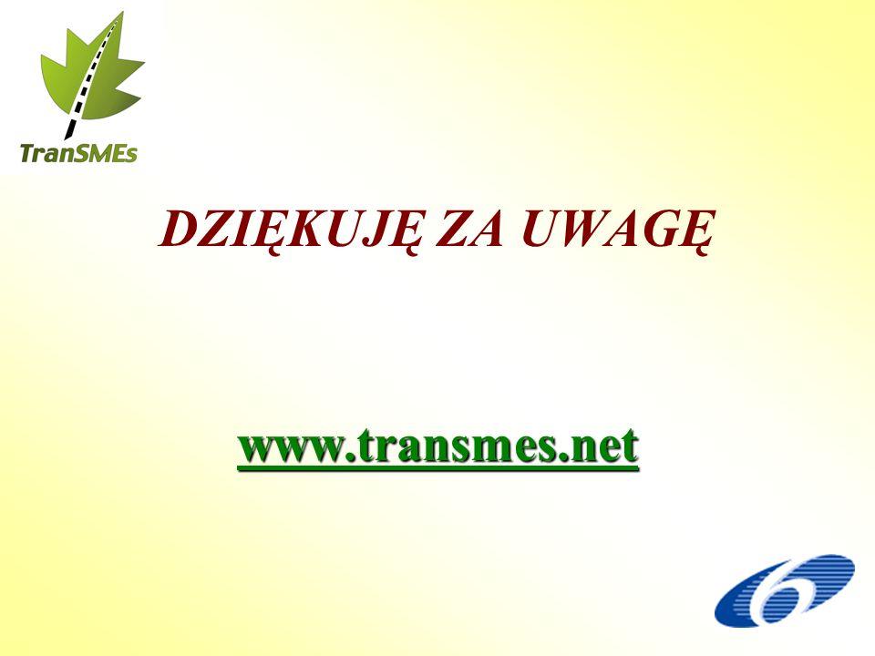 DZIĘKUJĘ ZA UWAGĘwww.transmes.net