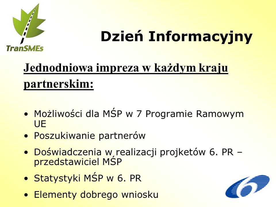 Dni Informacyjne w krajach partnerskich: 1.26/05/06 – Wilno, Litwa 2.