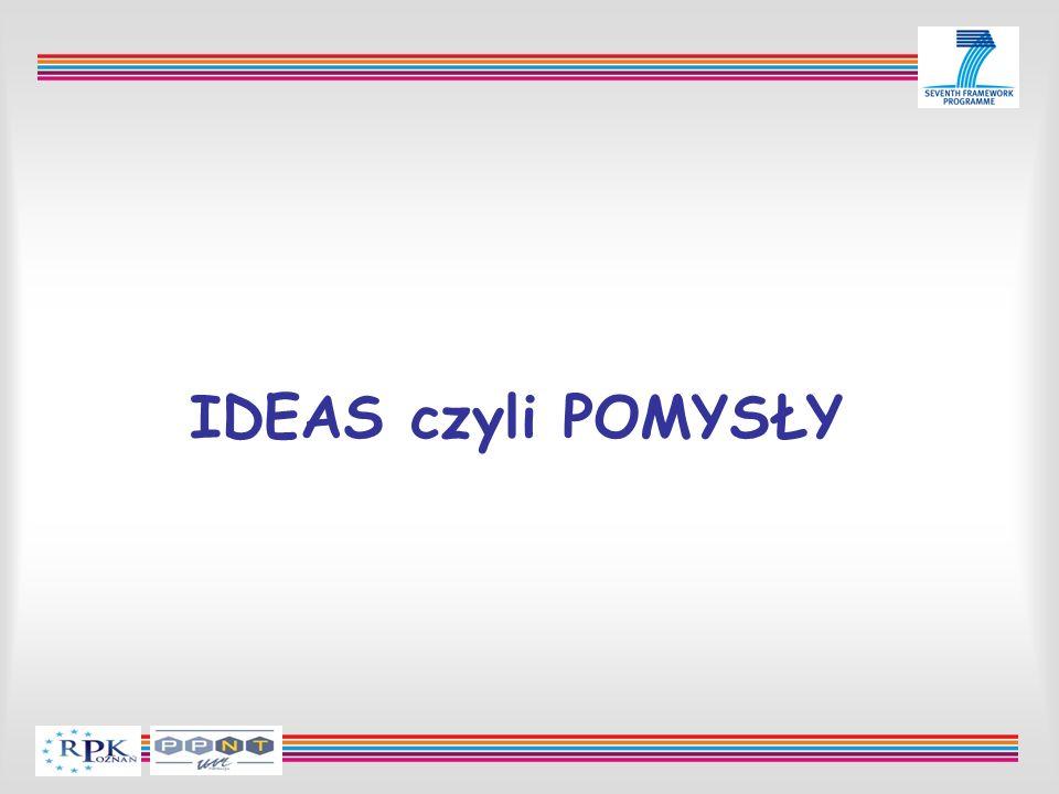 IDEAS czyli POMYSŁY