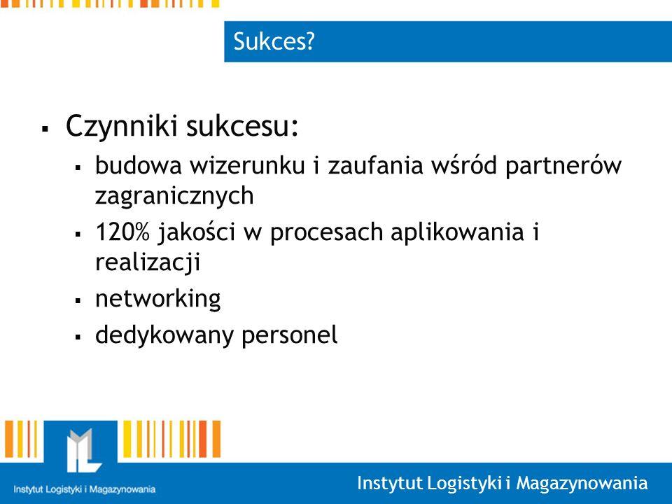 Instytut Logistyki i Magazynowania Sukces.