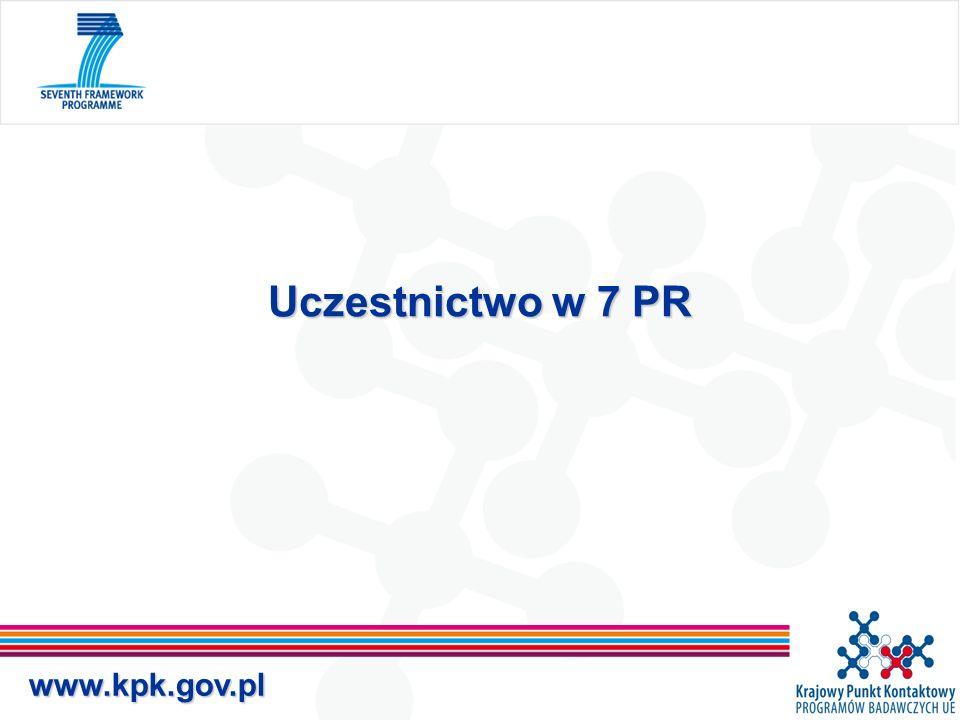 www.kpk.gov.pl Uczestnictwo w 7 PR