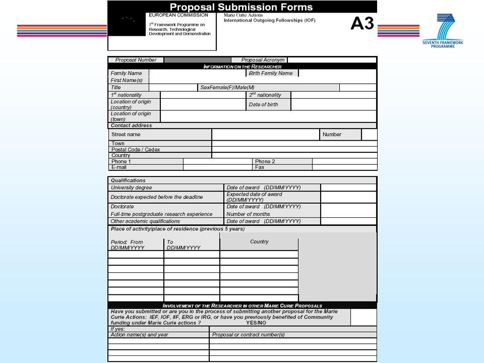Formularz A4 - informacje budżetowe - wynagrodzenie - koszty relokacji - koszty podróży - badania laboratoryjne czy inne