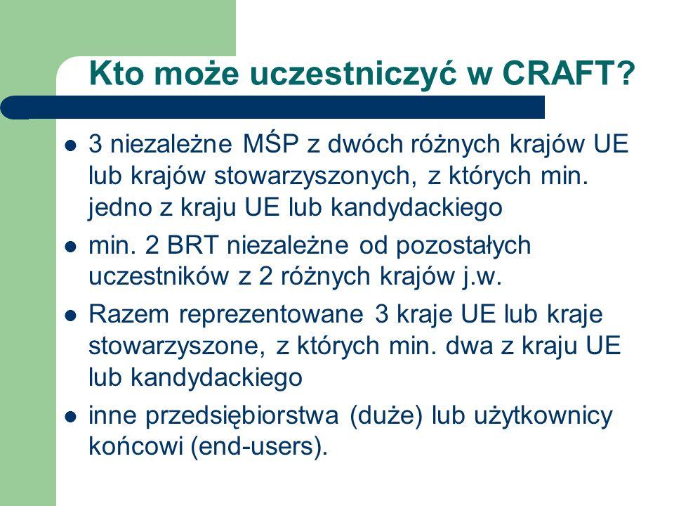 Kto może uczestniczyć w CRAFT.